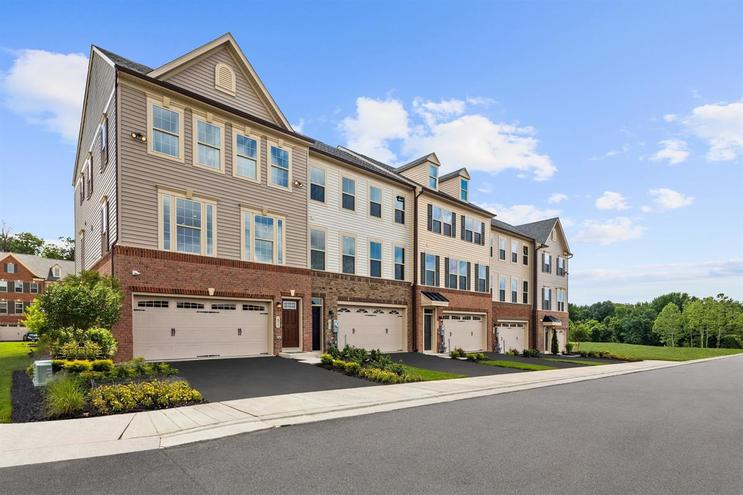 Parkside 3 bedroom townhomes with garage hanover md - 3 bedroom townhomes for rent in md ...